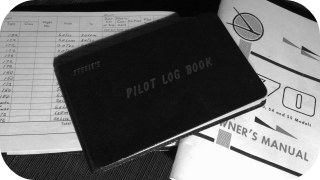 Pilots Logbook, Flight Time, VFR, Training Owners Manual