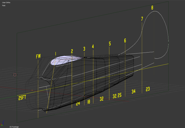 First reference image layout with bulkhead measurements.